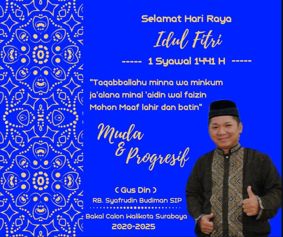 Gus Din: Indahnya Berbagi Untuk Sesama Di Hari Idul Fitri